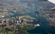 sydney-harbour-aerial-view
