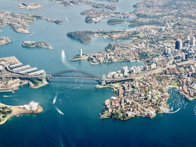 sydney-harbour-plane-window-view-photo