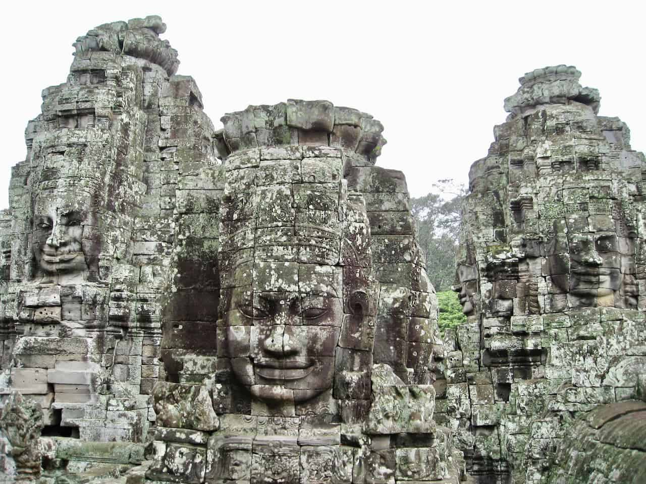 The wonders of Angkor Wat