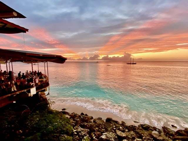 the-cliff-barbados-sunset-photo