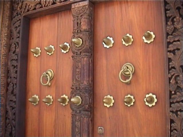 A Stonetown door