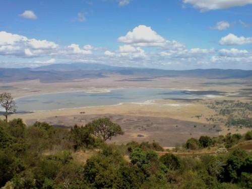 Ngorongoro crater from Serena Lodge