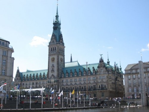 rathaus-city-hall-hamburg-photo