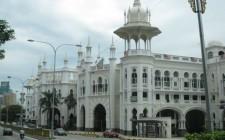 Old railway station in Kuala Lumpur.