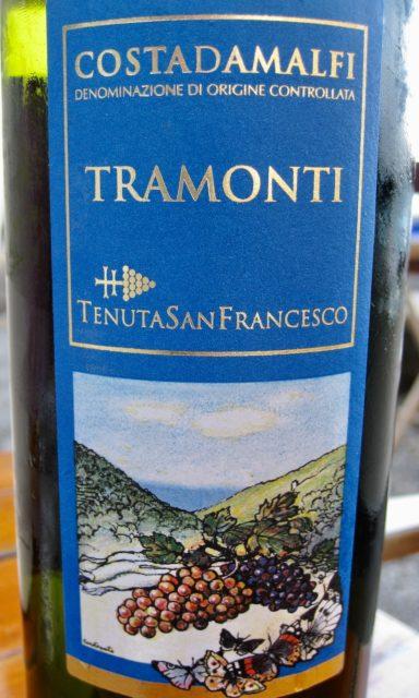 amalfi wine