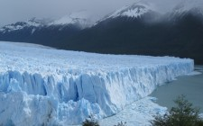 Witnessing the majesty of the Perito Merino glacier in Patagonia, Argentina.