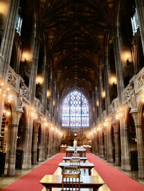 john rylands library manchester photo