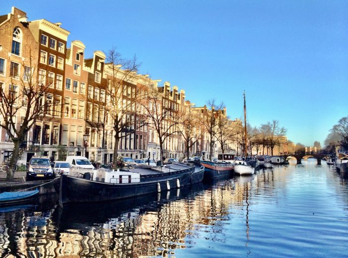 The canals of Amsterdam: a window into the city