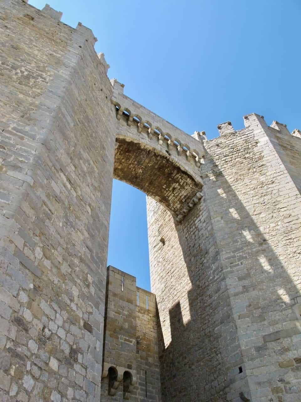 sant miquel gate morella photo