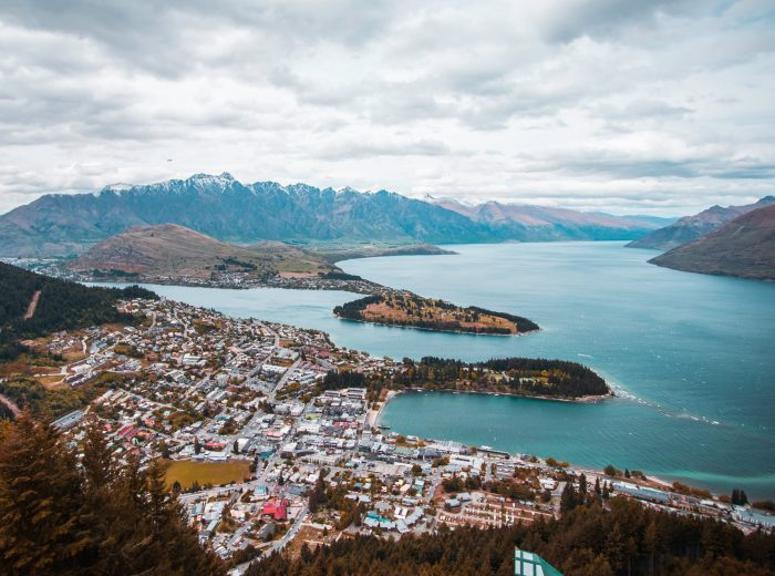 Queenstown from above