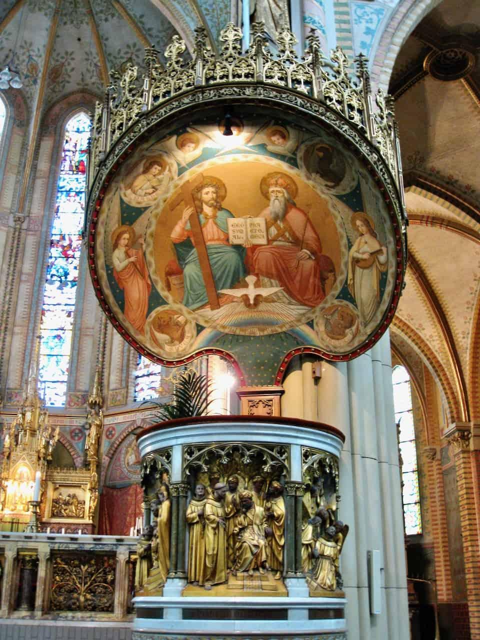 Maria van Jesse kerk delft photo