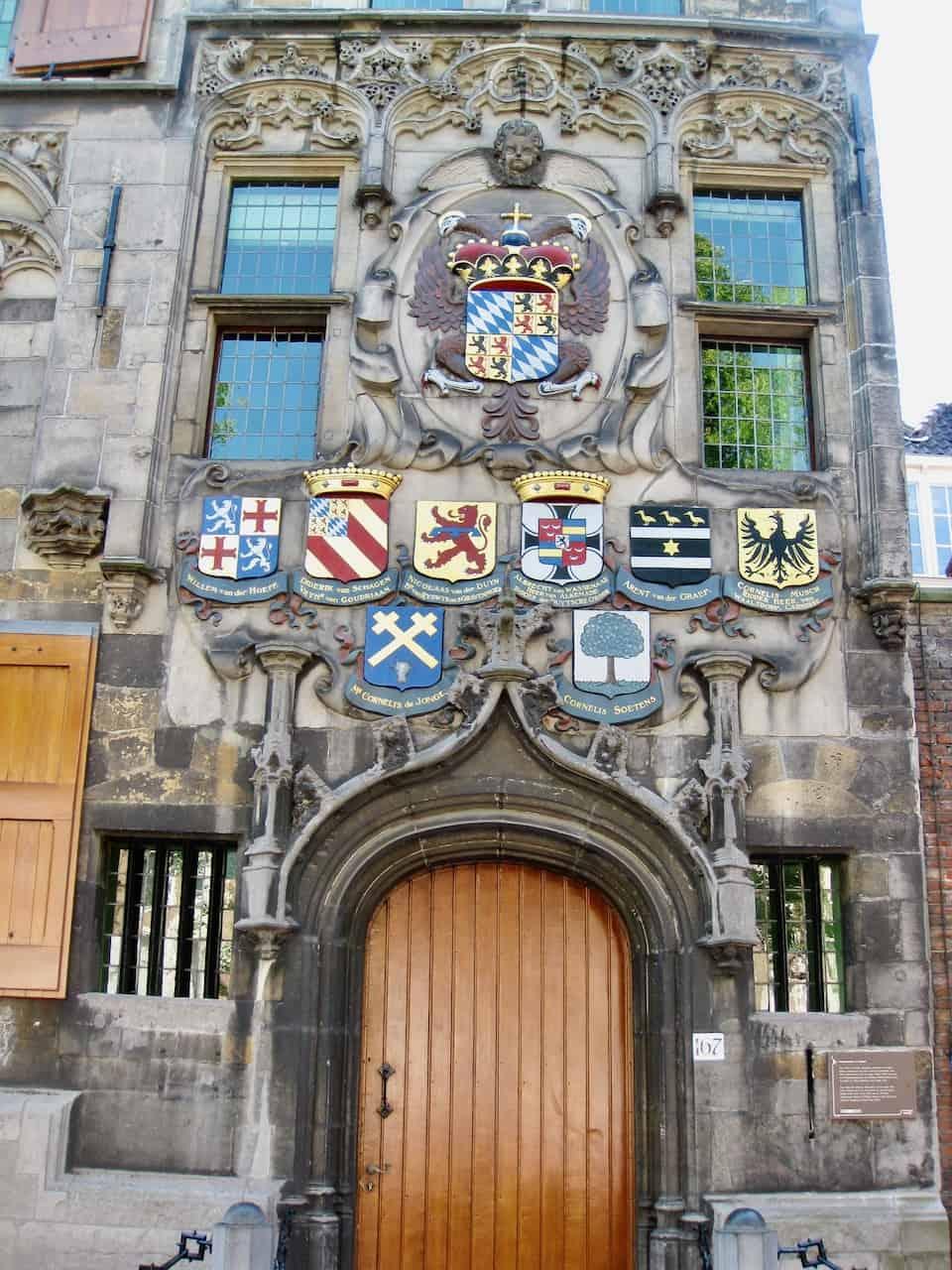 coat of arms delft photo