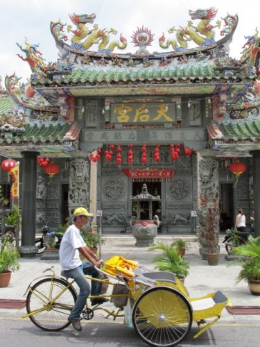 rickshaw-hainan-temple-penang-photo