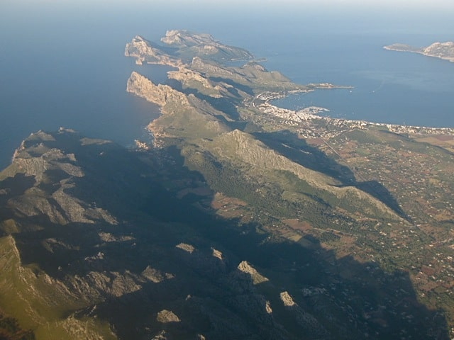 An aerial view of the countryside of mallorca for Kenay home mallorca