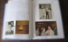The journal contained funny anecdotes and lovely family photos