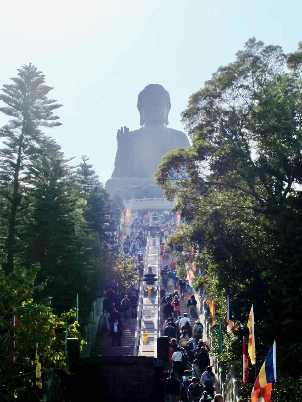 giant buddha hong kong photo
