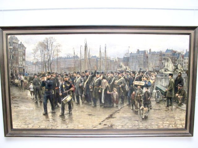 transport-colonial-soldiers-isaac-israels-photo