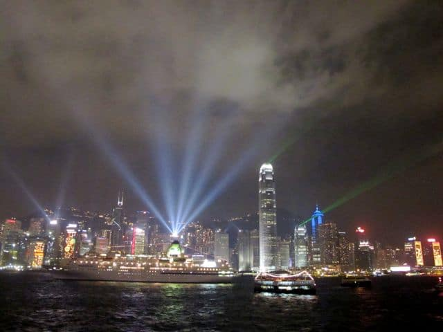 The Hong Kong Symphony of Lights