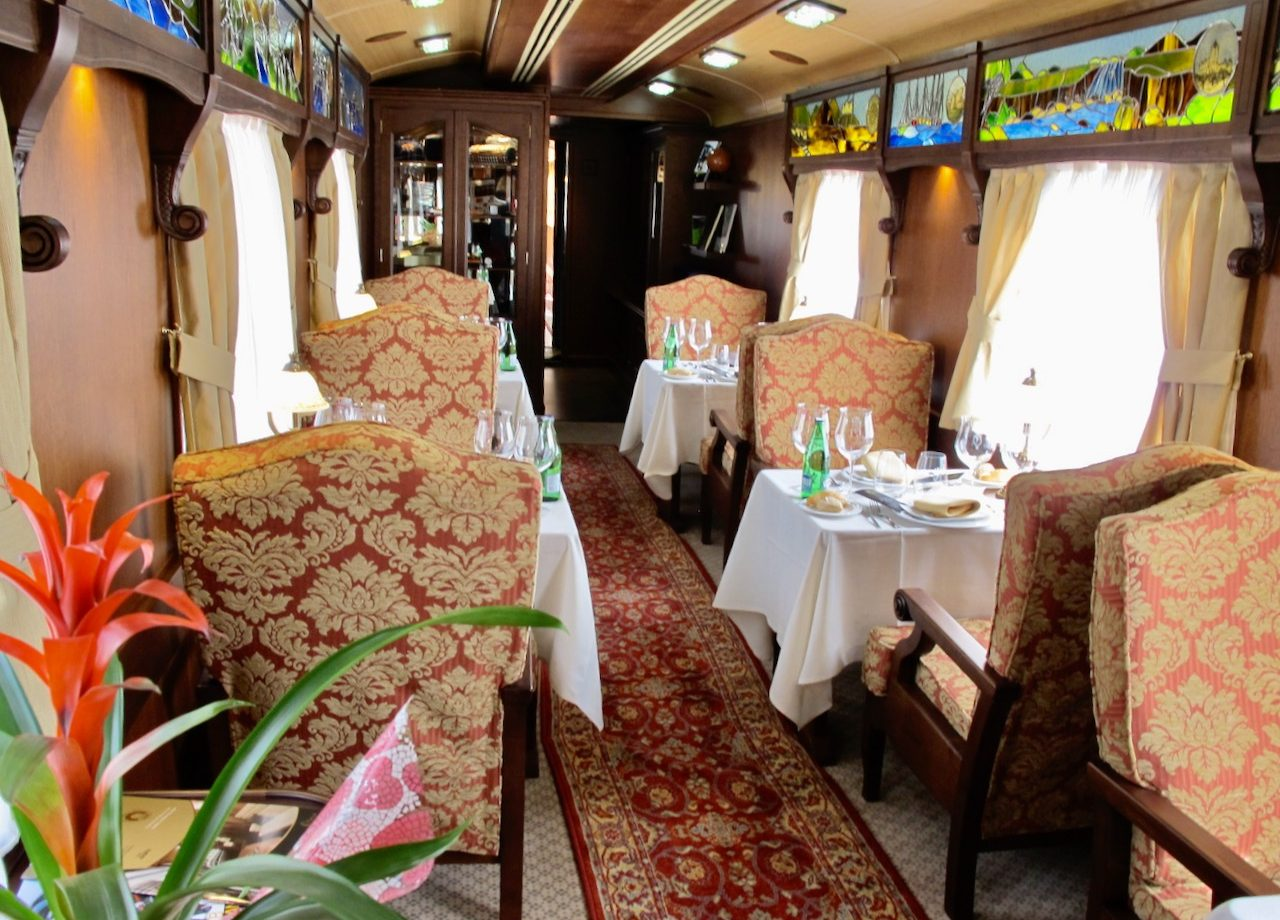 Transcantabrico Gran Lujo luxury train photo