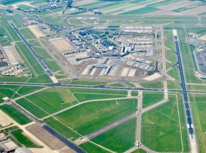 Plane views: Amsterdam Airport Schiphol