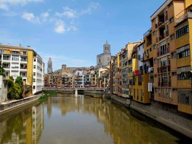 Strolling around gorgeous Girona