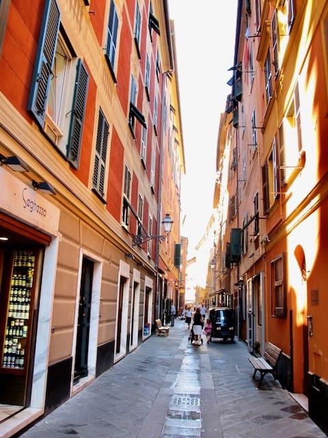street-santa-margherita-liguria-photo