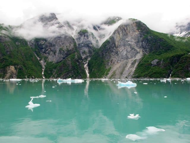 Enchanting spots: Tracy Arm fjord, Alaska