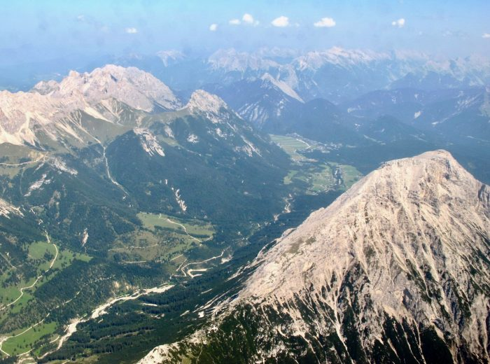 Plane views: Innsbruck