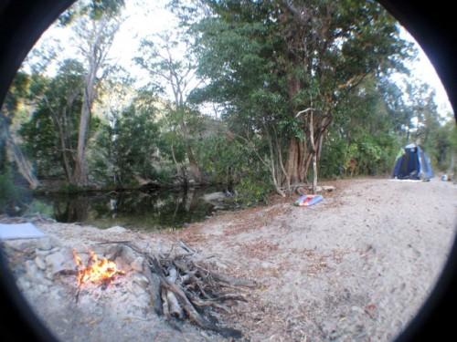 camp-site-fish-eye-view-photo