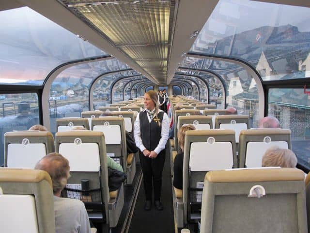 how to go on rocky mountaineer train
