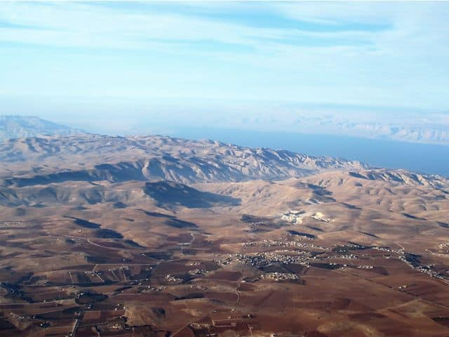jordan-aerial-view-dead-sea-photo