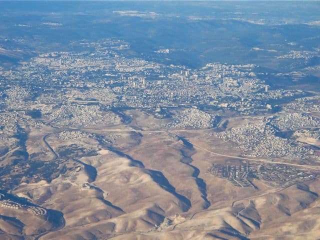 aerial-view-towns-west-bank-photo