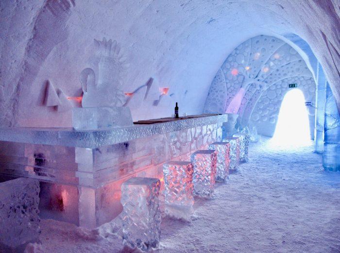 Inside the Snow Village
