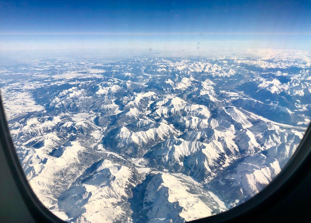 european-alps-plane-window-view-photo