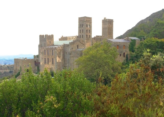 sant pere de rodes abbey photo