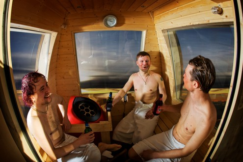 sauna-gondola-yllas-inside-photo