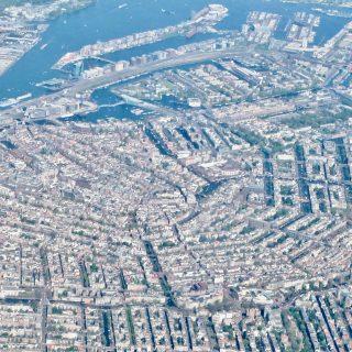amsterdam-city-center-aerial-view-photo
