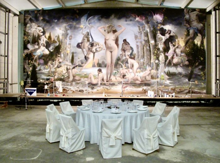 A marriage of Strambotic art and gastronomy