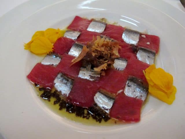 tuna-carpaccio-checkerboard-photo