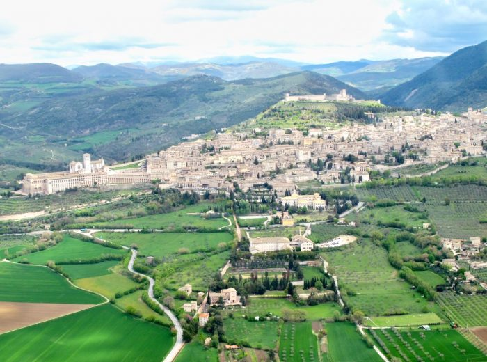 Plane views: Assisi