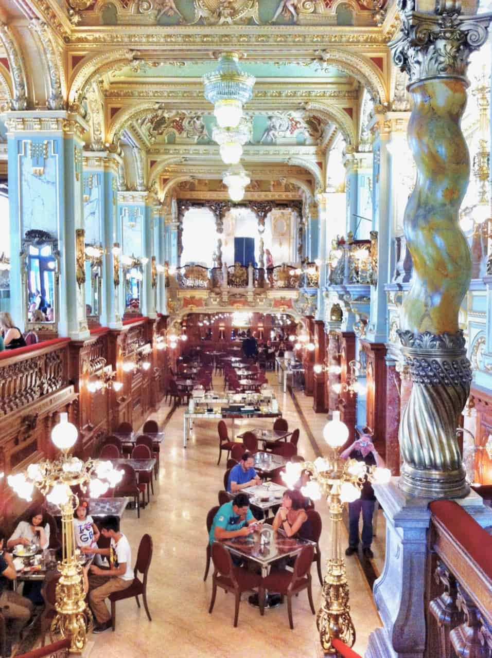 most beautiful cafe in the world