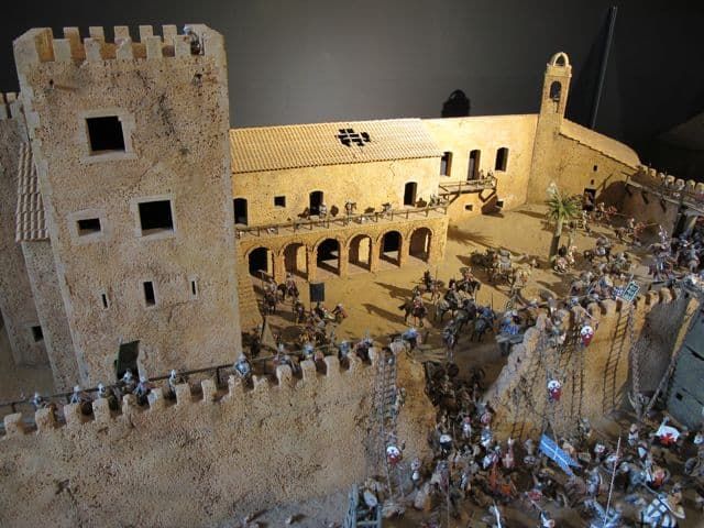 castle-battle-toy-soldiers-photo
