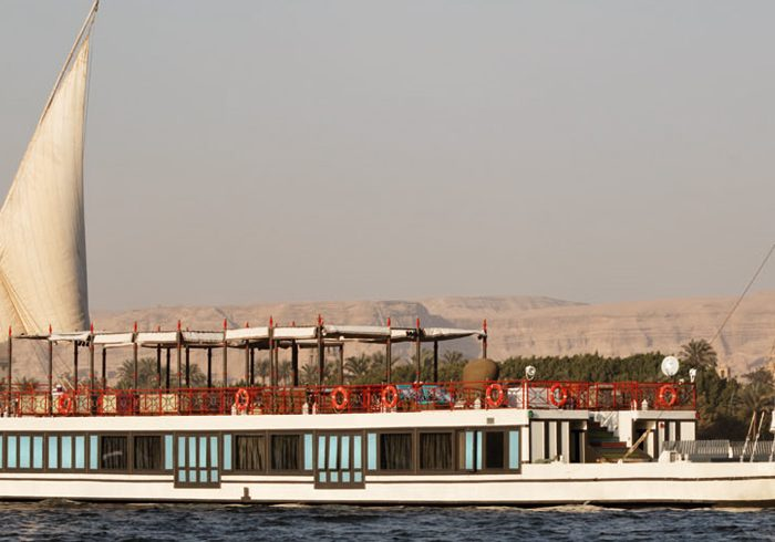 Sailing down the Nile in luxury