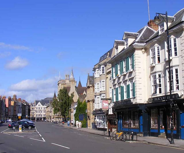 Broad Street, Oxford (image courtesy of Dick Penn)