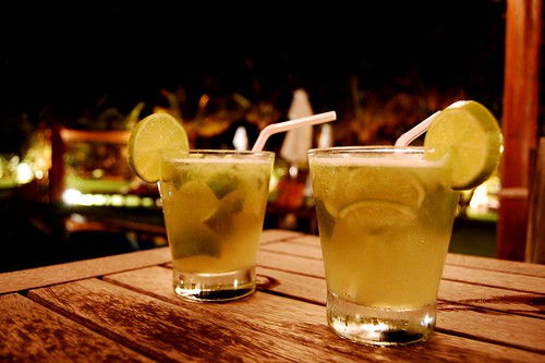 Caipirinhas for two (image courtesy of Adrien)