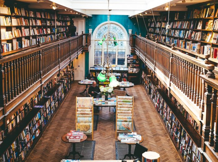 A bookstore tour of England