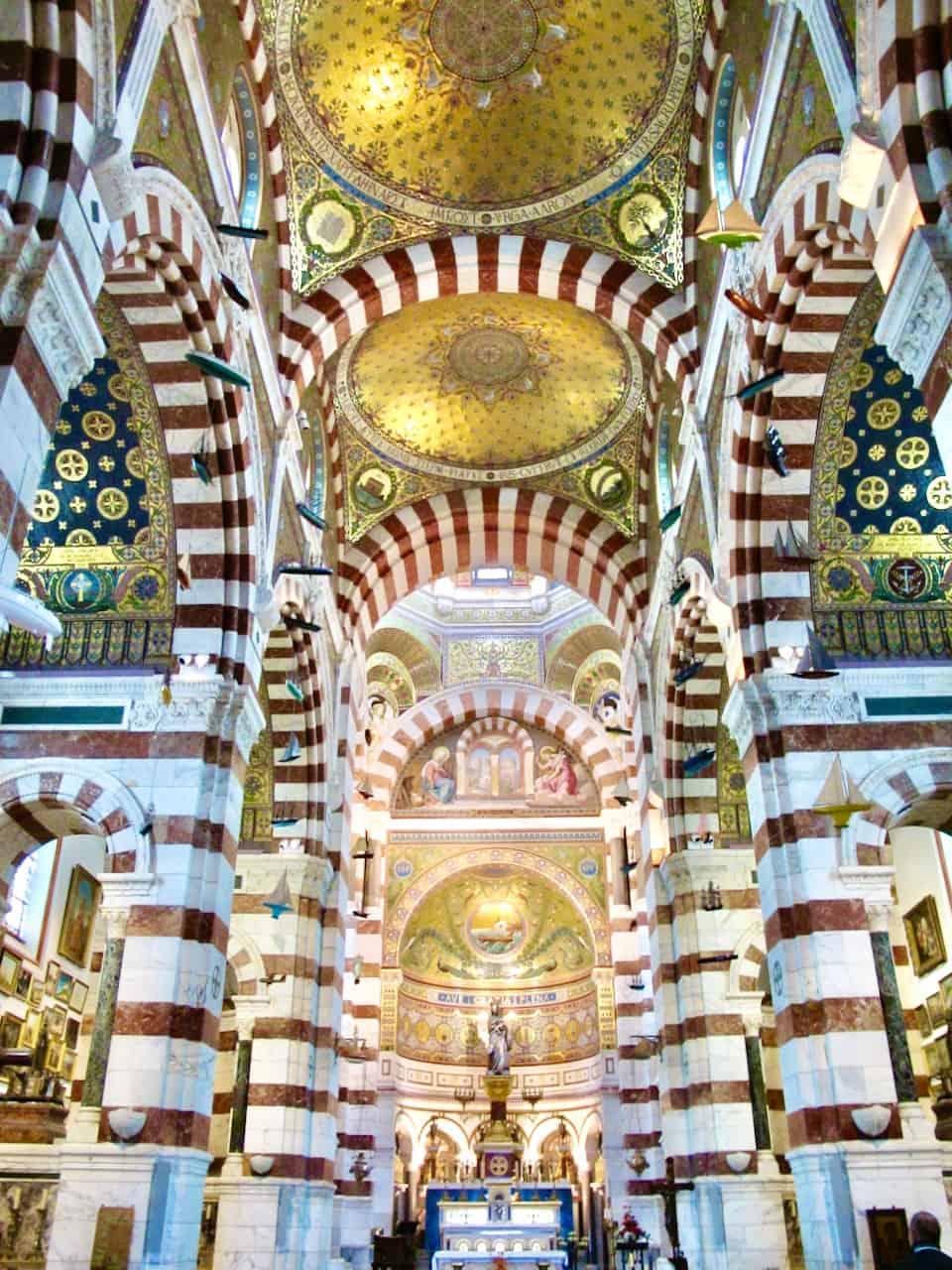 Notre Dame de la Garde marseille photo
