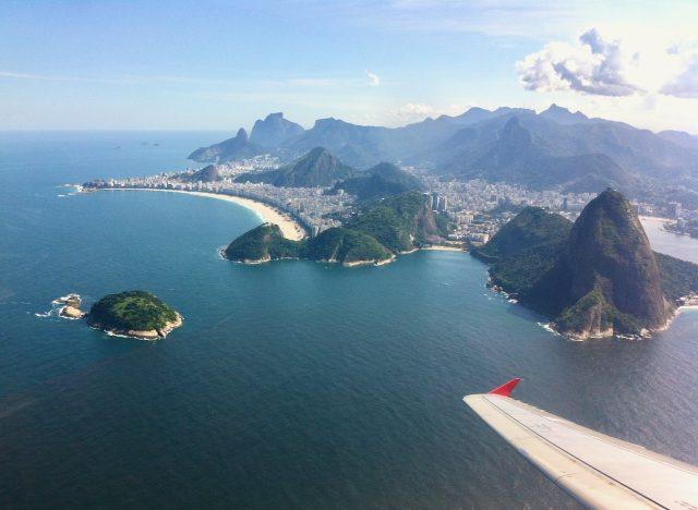 plane-window-view-rio-de-janeiro-photo