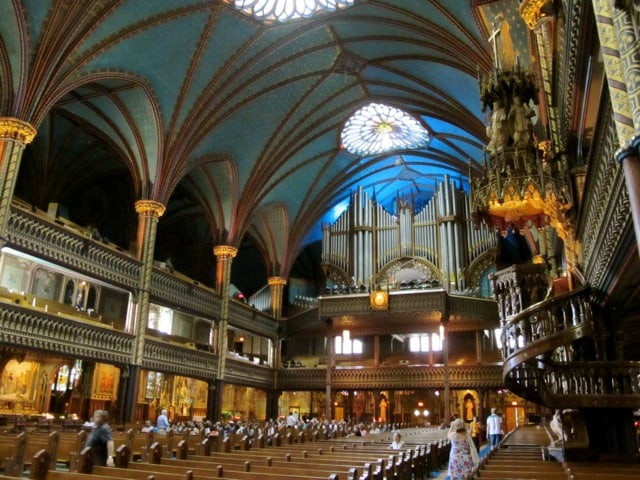 notre-dame-basilica-montreal-pulpit-organ-photo