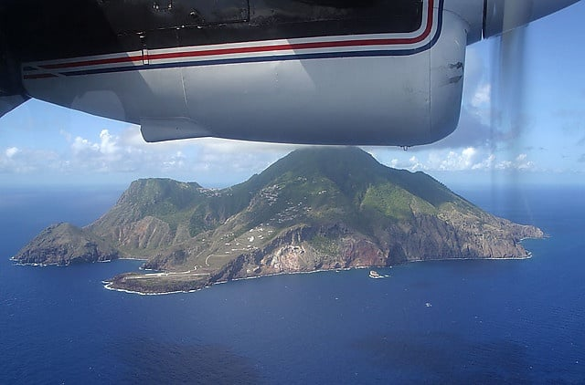 Saba island (image courtesy of Avalonn).